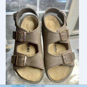 Birkenstock Brown Mocha Tatami Nebraska Sandals 7